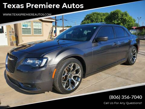 2015 Chrysler 300 for sale at Texas Premiere Autos in Amarillo TX