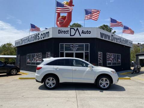 2015 Acura RDX for sale at Direct Auto in D'Iberville MS