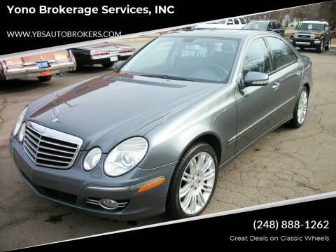 2007 Mercedes-Benz E-Class for sale at Yono Brokerage Services, INC in Farmington MI