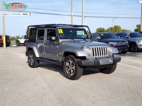 2018 Jeep Wrangler JK Unlimited for sale at GATOR'S IMPORT SUPERSTORE in Melbourne FL