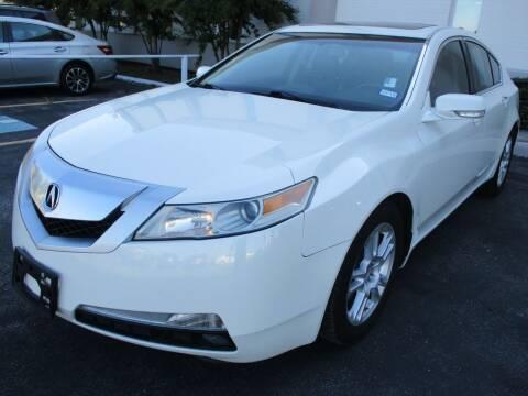 2011 Acura TL for sale at GRG Auto Plex in Houston TX