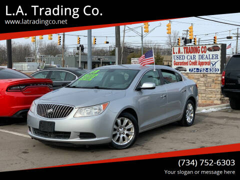 2013 Buick LaCrosse for sale at L.A. Trading Co. in Woodhaven MI