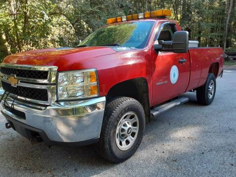 2012 Chevrolet Silverado 3500HD for sale at Cappy's Automotive in Whitinsville MA