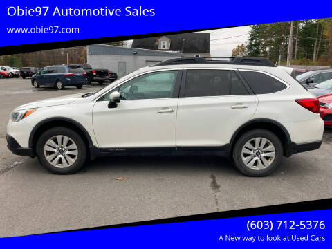 2015 Subaru Outback for sale at Obie97 Automotive Sales in Londonderry NH