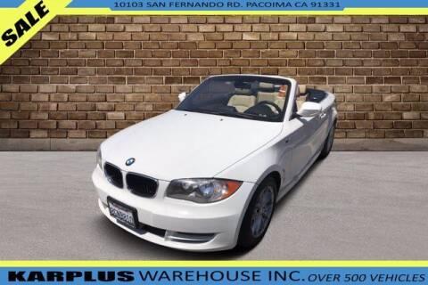2011 BMW 1 Series for sale at Karplus Warehouse in Pacoima CA