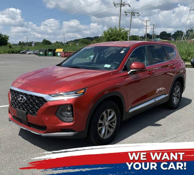 2019 Hyundai Santa Fe for sale at Eastclusive Motors LLC in Hasbrouck Heights NJ