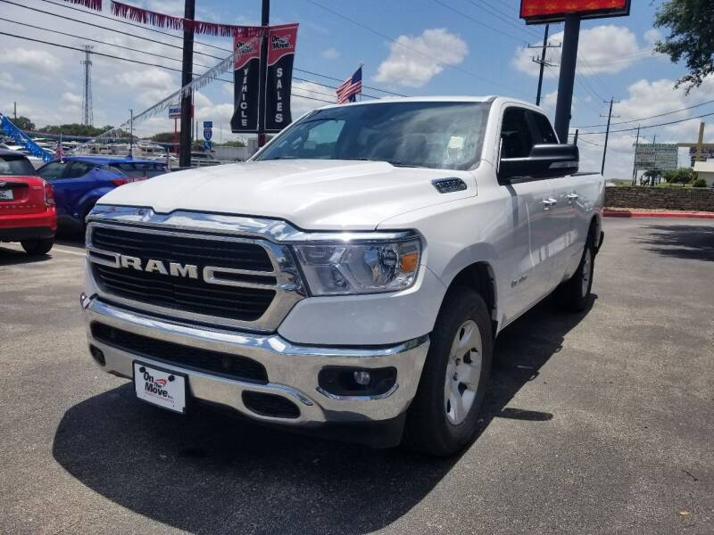 2019 RAM Ram Pickup 1500 for sale at ON THE MOVE INC in Boerne TX