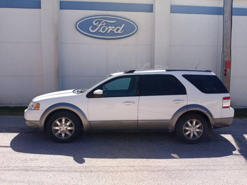 2008 Ford Taurus X for sale at Welterlen Motors in Edgewood IA