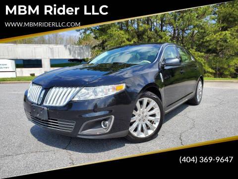 2012 Lincoln MKS for sale at MBM Rider LLC in Alpharetta GA