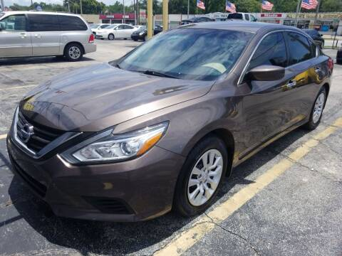 2016 Nissan Altima for sale at Castle Used Cars in Jacksonville FL