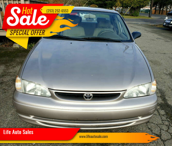 1998 Toyota Corolla for sale at Life Auto Sales in Tacoma WA