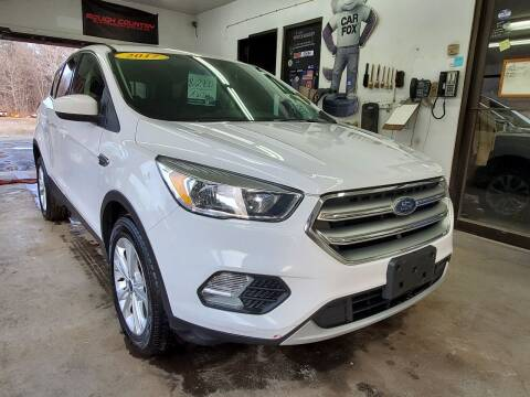 2017 Ford Escape for sale at Oxford Auto Sales in North Oxford MA