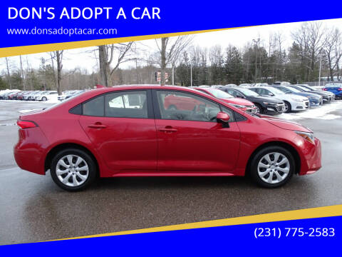 2020 Toyota Corolla for sale at DON'S ADOPT A CAR in Cadillac MI