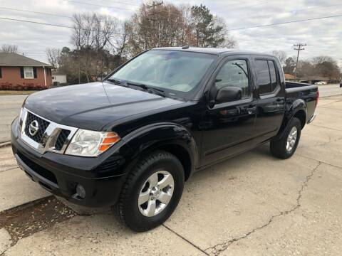 2013 Nissan Frontier for sale at E Motors LLC in Anderson SC