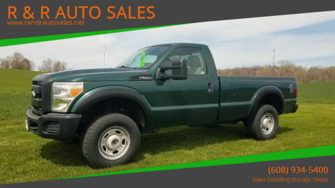 2011 Ford F-250 Super Duty for sale at R & R AUTO SALES in Juda WI