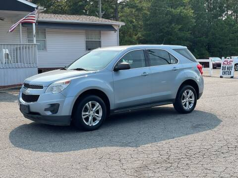 2014 Chevrolet Equinox for sale at CVC AUTO SALES in Durham NC