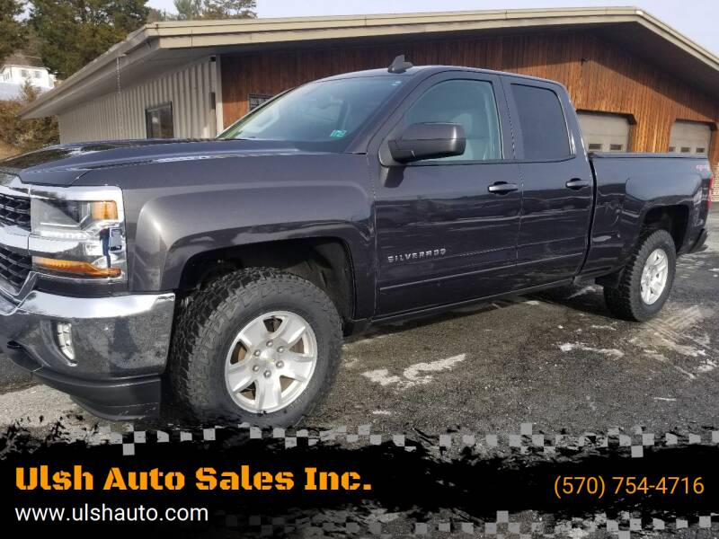 2016 Chevrolet Silverado 1500 for sale at Ulsh Auto Sales Inc. in Summit Station PA
