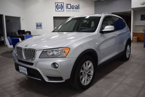 2014 BMW X3 for sale at iDeal Auto Imports in Eden Prairie MN