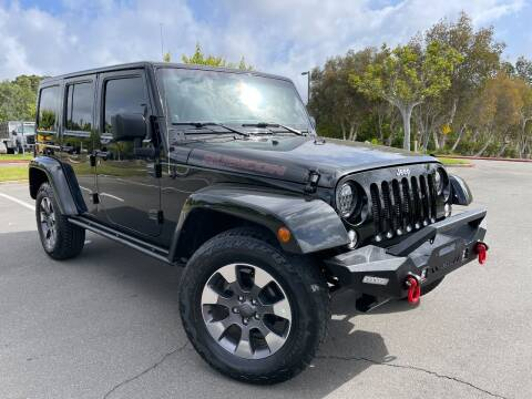 2014 Jeep Wrangler Unlimited for sale at Automaxx Of San Diego in Spring Valley CA
