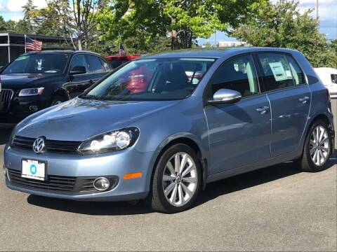 2012 Volkswagen Golf for sale at GO AUTO BROKERS in Bellevue WA