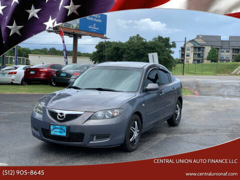 2009 Mazda MAZDA3 for sale at Central Union Auto Finance LLC in Austin TX