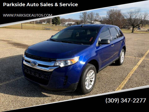 2013 Ford Edge for sale at Parkside Auto Sales & Service in Pekin IL