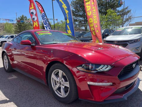 2020 Ford Mustang for sale at Duke City Auto LLC in Gallup NM