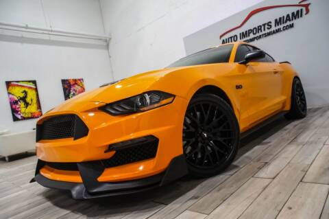 2018 Ford Mustang for sale at AUTO IMPORTS MIAMI in Fort Lauderdale FL