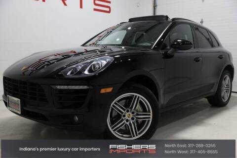 2015 Porsche Macan for sale at Fishers Imports in Fishers IN