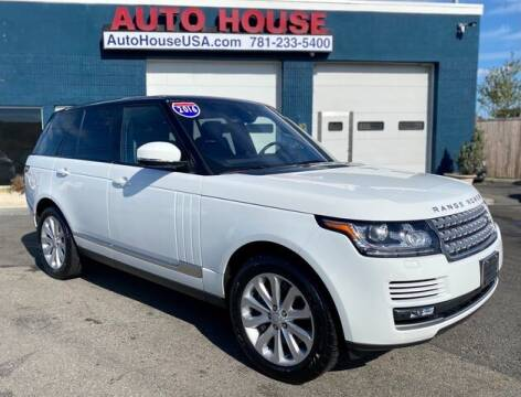 2016 Land Rover Range Rover for sale at Saugus Auto Mall in Saugus MA
