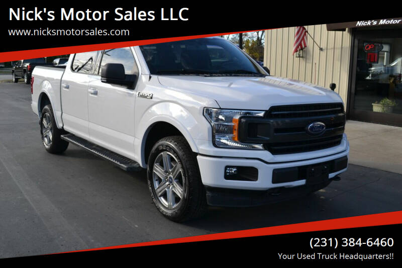 2019 Ford F-150 for sale at Nick's Motor Sales LLC in Kalkaska MI