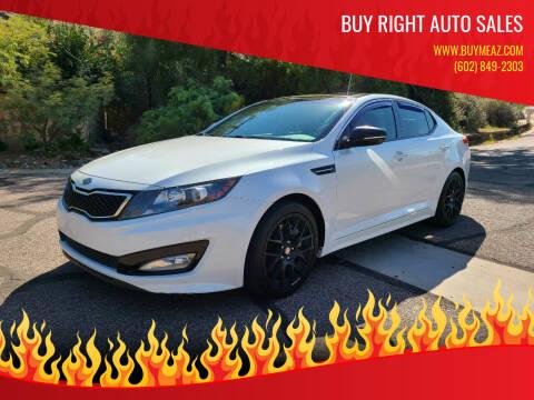2012 Kia Optima for sale at BUY RIGHT AUTO SALES in Phoenix AZ