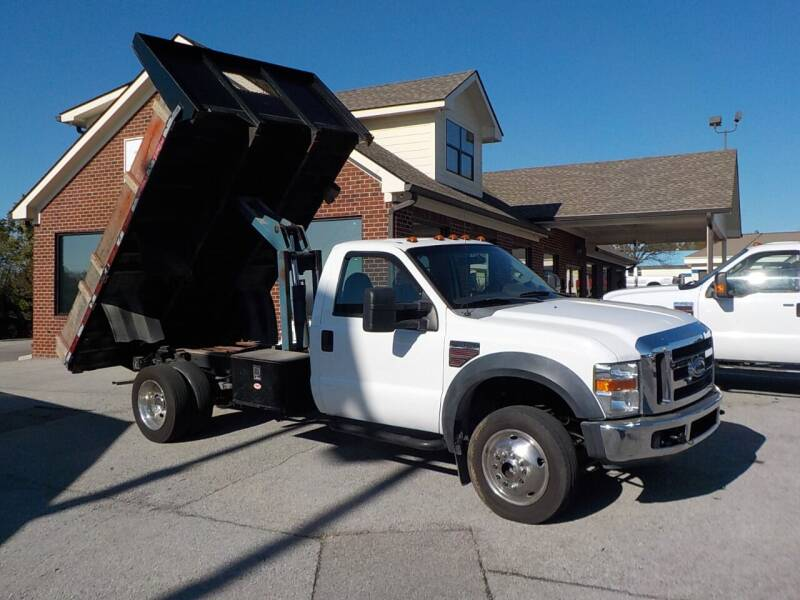 2008 Ford F-550 Super Duty for sale at C & C MOTORS in Chattanooga TN