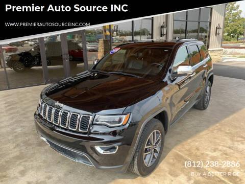 2019 Jeep Grand Cherokee for sale at Premier Auto Source INC in Terre Haute IN