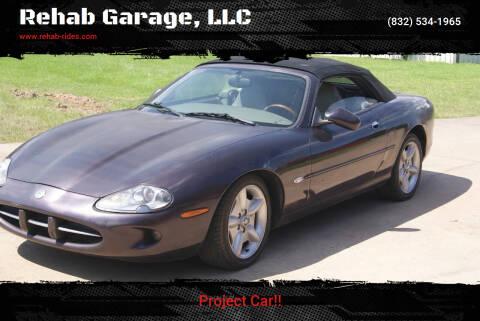 1999 Jaguar XK-Series for sale at Rehab Garage, LLC in Tomball TX