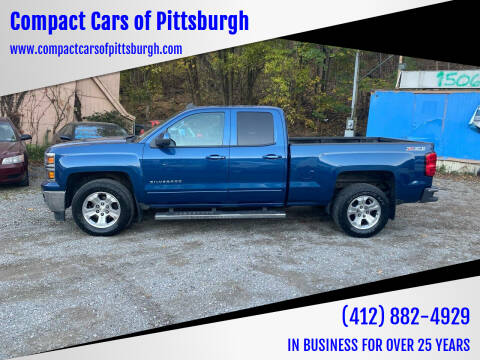 2015 Chevrolet Silverado 1500 for sale at Compact Cars of Pittsburgh in Pittsburgh PA