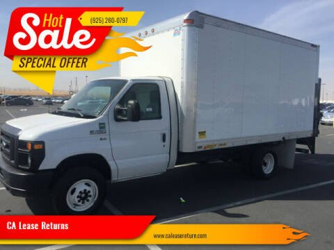 2013 Ford E-Series Chassis for sale at CA Lease Returns in Livermore CA
