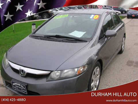 2010 Honda Civic for sale at Durham Hill Auto in Muskego WI