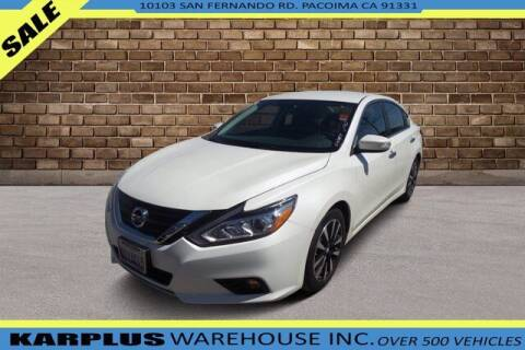 2018 Nissan Altima for sale at Karplus Warehouse in Pacoima CA