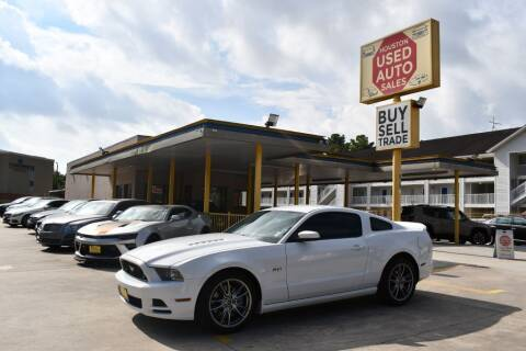2014 Ford Mustang for sale at Houston Used Auto Sales in Houston TX