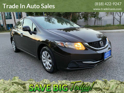 2013 Honda Civic for sale at Trade In Auto Sales in Van Nuys CA