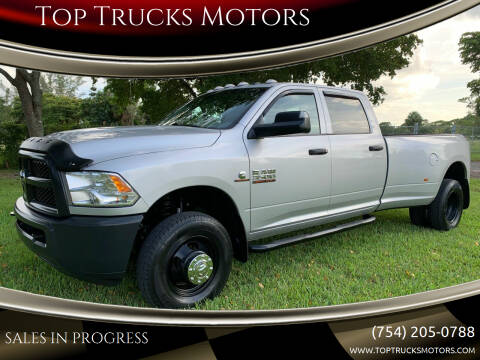 2017 RAM Ram Pickup 3500 for sale at Top Trucks Motors in Pompano Beach FL