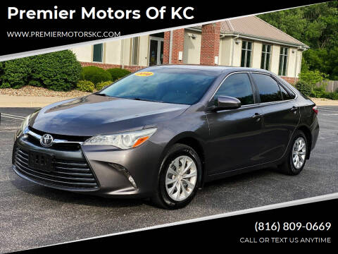 2016 Toyota Camry for sale at Premier Motors of KC in Kansas City MO