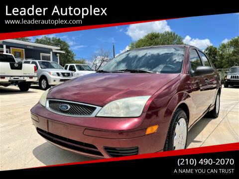 2007 Ford Focus for sale at Leader Autoplex in San Antonio TX