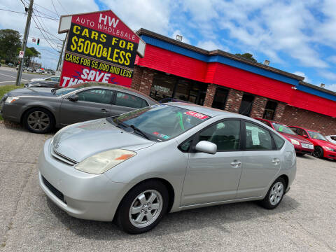 2004 Toyota Prius for sale at HW Auto Wholesale in Norfolk VA
