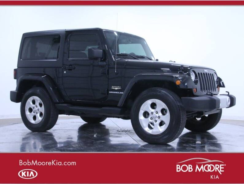2013 Jeep Wrangler for sale at Bob Moore Kia in Oklahoma City OK