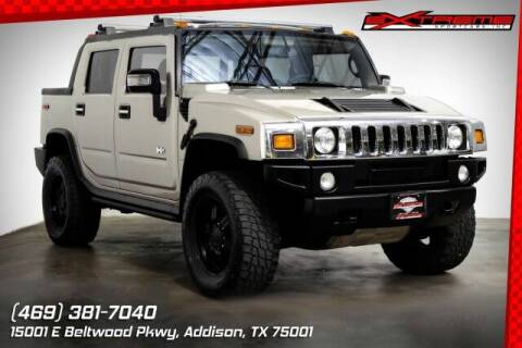 2006 HUMMER H2 SUT for sale at EXTREME SPORTCARS INC in Carrollton TX