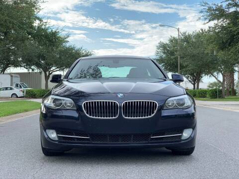 2013 BMW 5 Series for sale at Presidents Cars LLC in Orlando FL