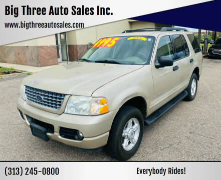 2005 Ford Explorer for sale at Big Three Auto Sales Inc. in Detroit MI