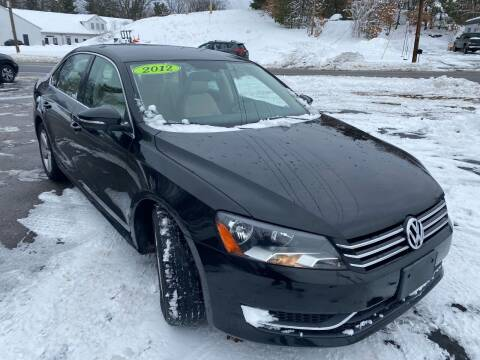 2012 Volkswagen Passat for sale at USA Auto Sales in Leominster MA